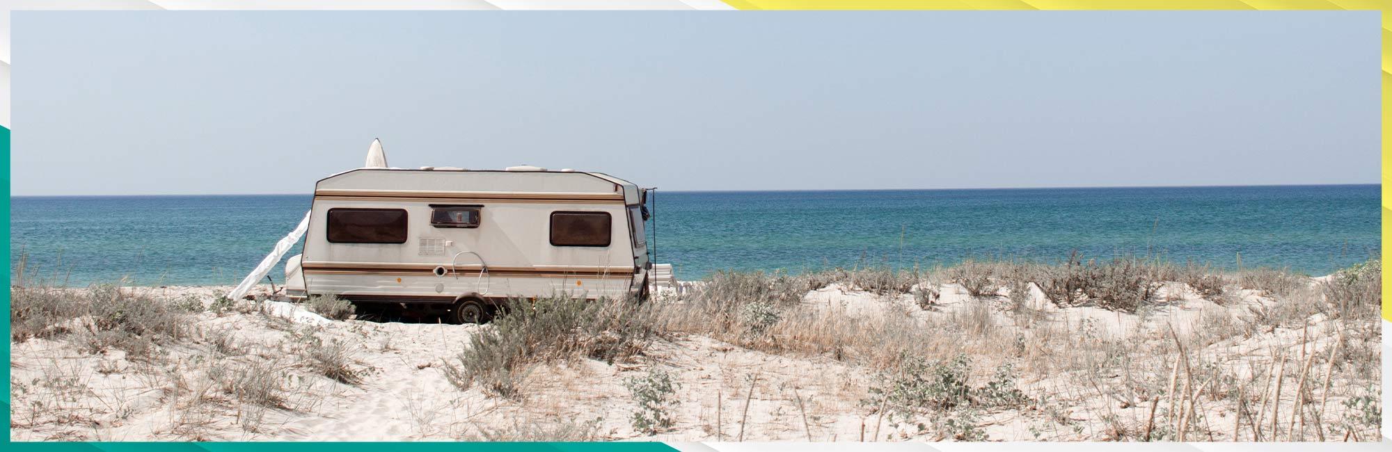 RV beach camping Eastern Shore MD