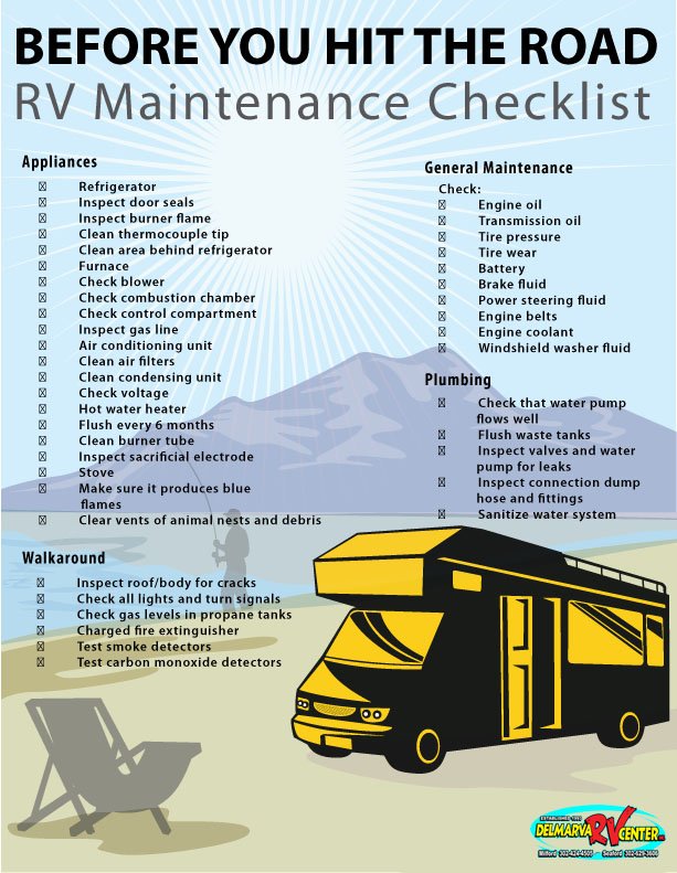 RV Maintenance Checklist